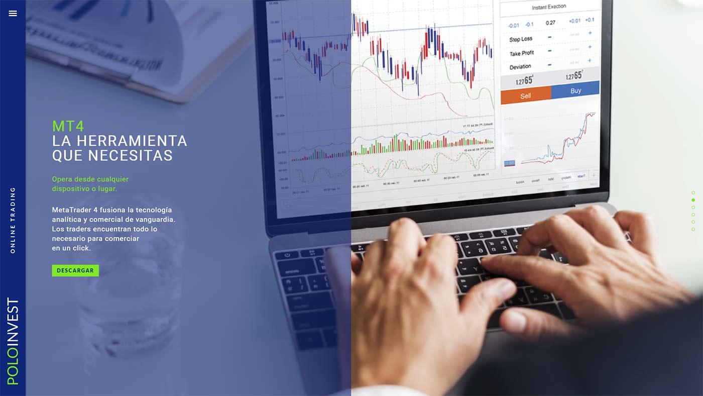 Página web de Polo Invest