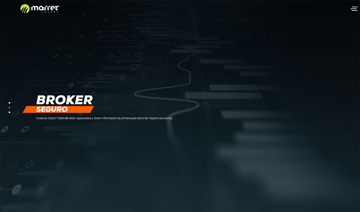 Página web de Marret Invest