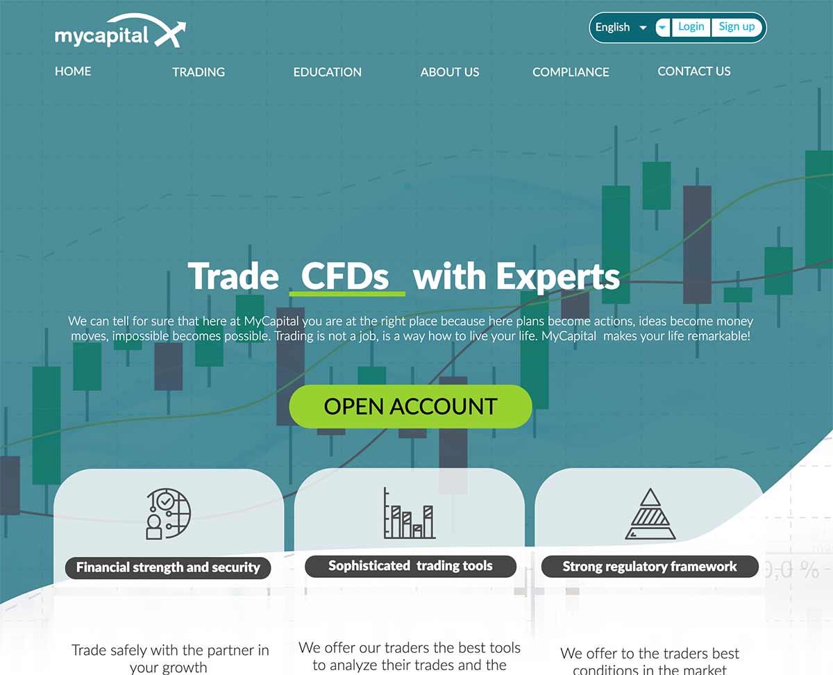 Página web de MyCapital