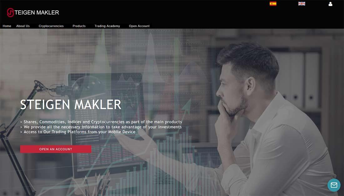 Página web de Steigen Makler